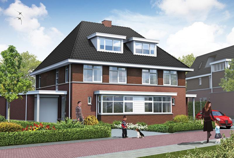 Kavel 3 en 4 Raetwijck Zoeterwoude villa